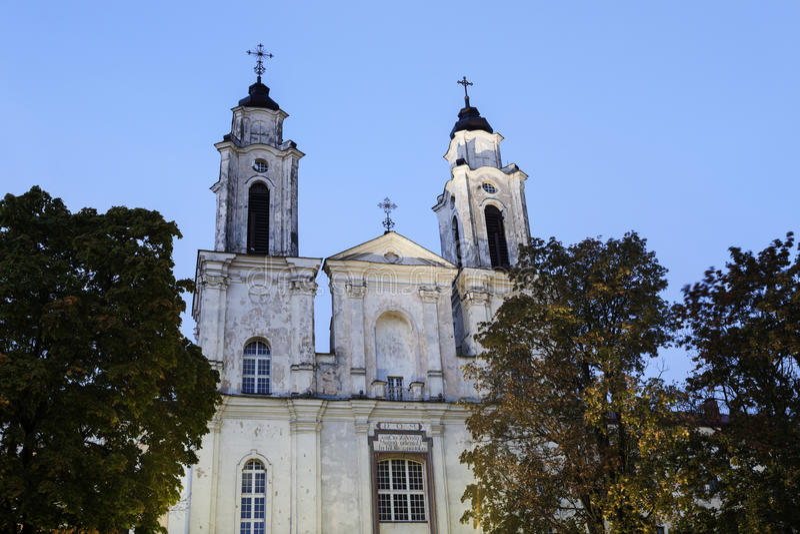 Kirche von St. Francis Xavier stockbild