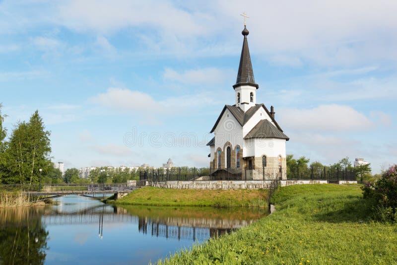 Kirche von St George in St Petersburg lizenzfreie stockfotografie