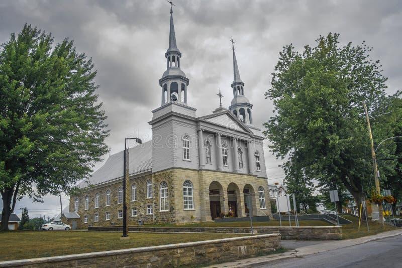 Kirche von St. Gregoire stockfotos