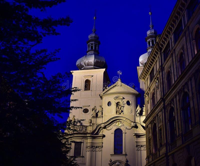 Kirche von St. Havel - Prag stockfotos