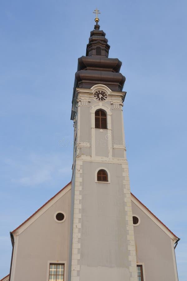Kirche von St James in Prelog, Kroatien lizenzfreie stockfotos