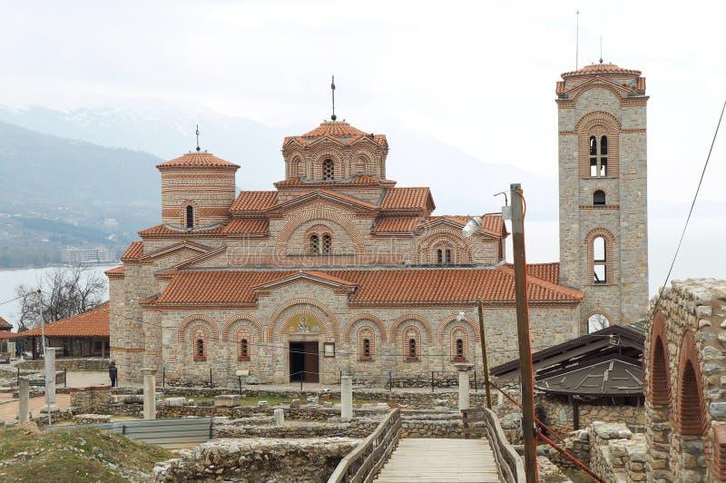 Download Kirche Von St. Panteleimon In Ohrid Stockbild - Bild von byzantinisch, kathedrale: 96931781