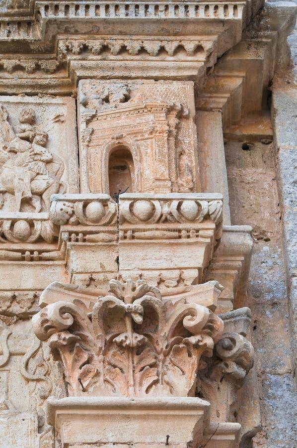 Kirche von St. Sebastiano. Galatone. Puglia. Italien. stockfotos