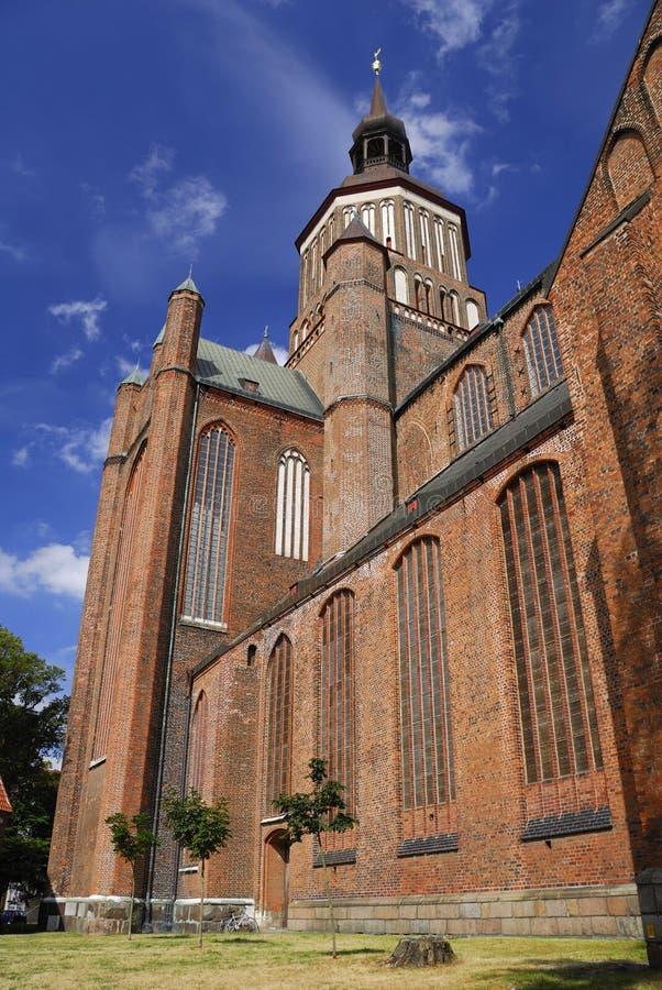 Kirche von Str. Mary - Stralsund lizenzfreies stockbild