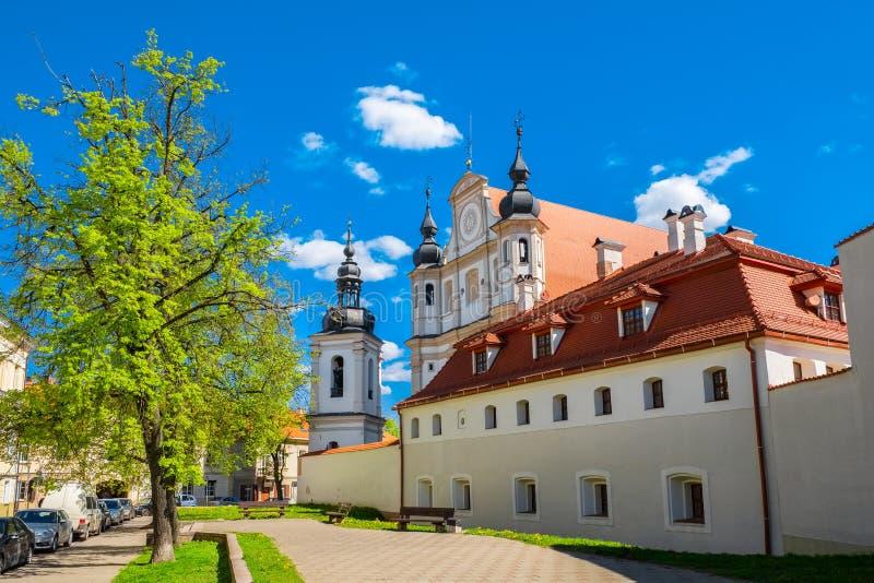 Kirche von Str Vilnius, Litauen stockbild