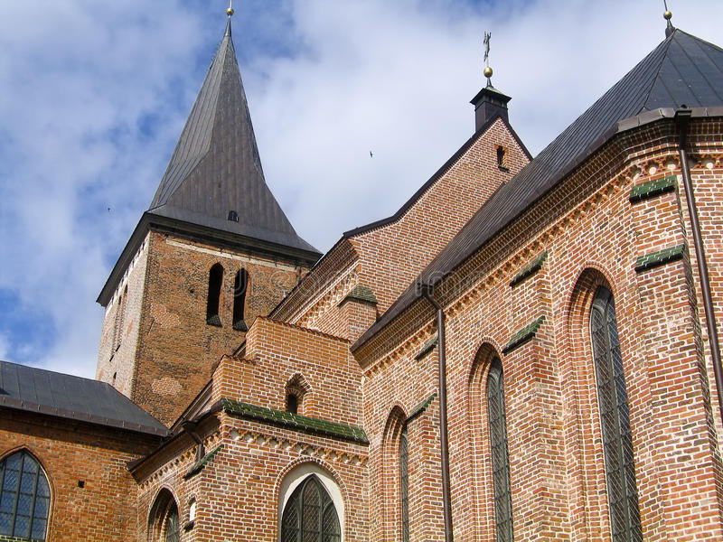 Kircheansicht lizenzfreie stockbilder