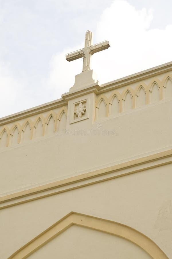 Kirchekreuz stockfotografie