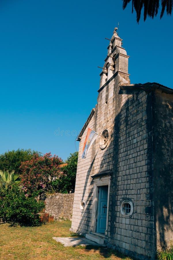 Download Kirchen-orthodoxe Kirche Der Geburt Christi Der Jungfrau In Perast, Stockfoto - Bild von montenegro, mittelmeer: 90225020