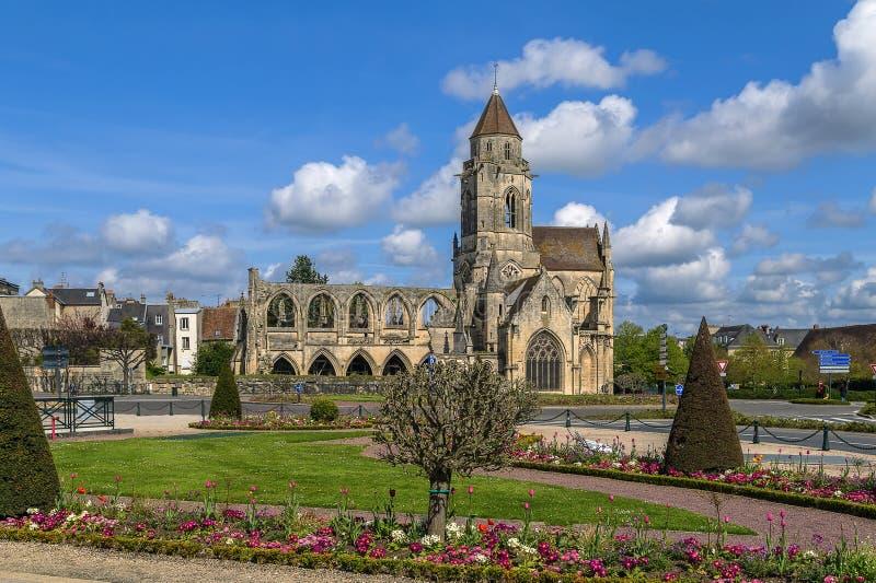 Kirchen-St. Etienne-Le-Vieux, Caen, Frankreich lizenzfreie stockfotografie