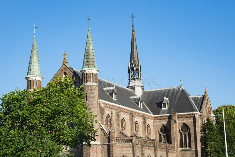 Kirchen-St. Josephkerk, in Alkmaar, die Niederlande lizenzfreies stockfoto