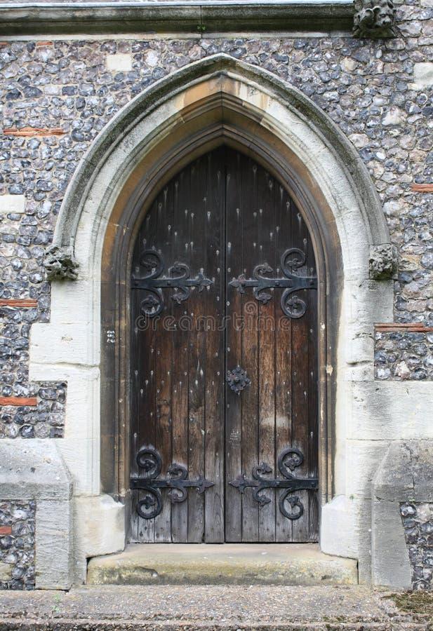 Kirchen-Tür lizenzfreie stockfotos