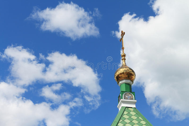 Kirchenhaube lizenzfreie stockfotografie