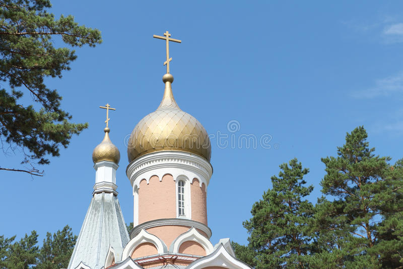Kirchenhaube stockbilder