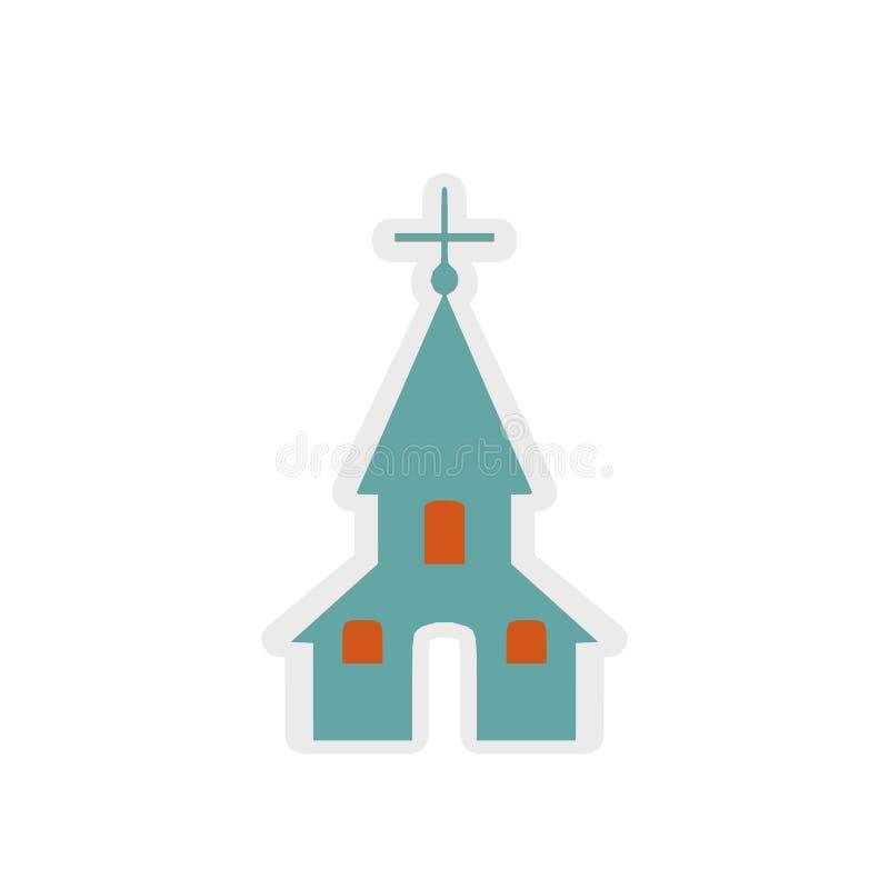 Kirchenikone, Zeichen, beste Illustration 3D vektor abbildung