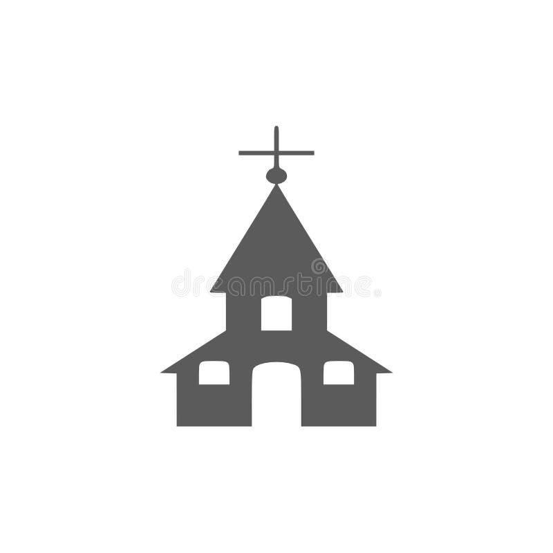 Kirchenikonenillustration lizenzfreie abbildung