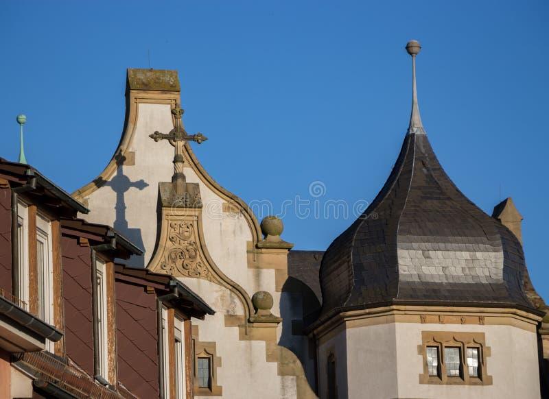 Kirchenkreuz stockfotografie