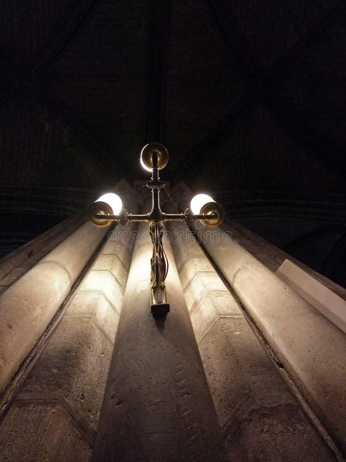 Kirchenlampe stockfotos