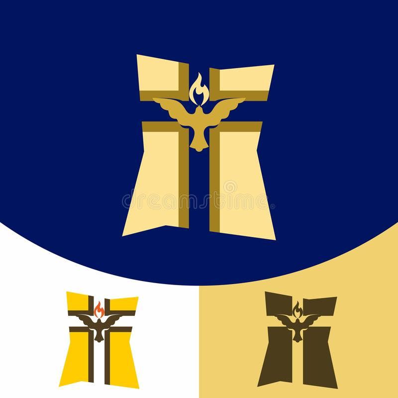 Christliche Symbole Kreuz