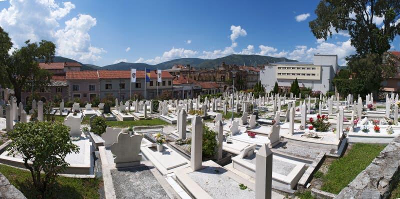 Kirchhof, Moschee, Mostar, Bosnien und Herzegowina, Europa, Islam, Religion, Ort von worshipy stockfotografie