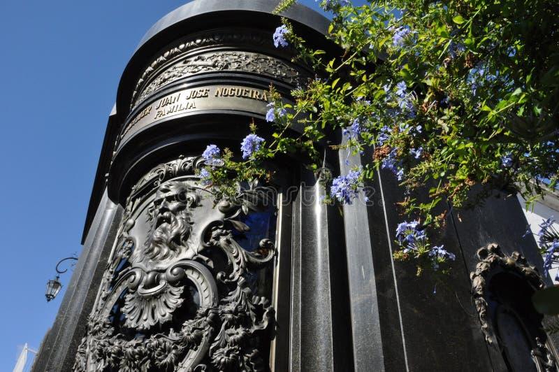 Kirchhof Recoleta. Buenos Aires stockfotografie