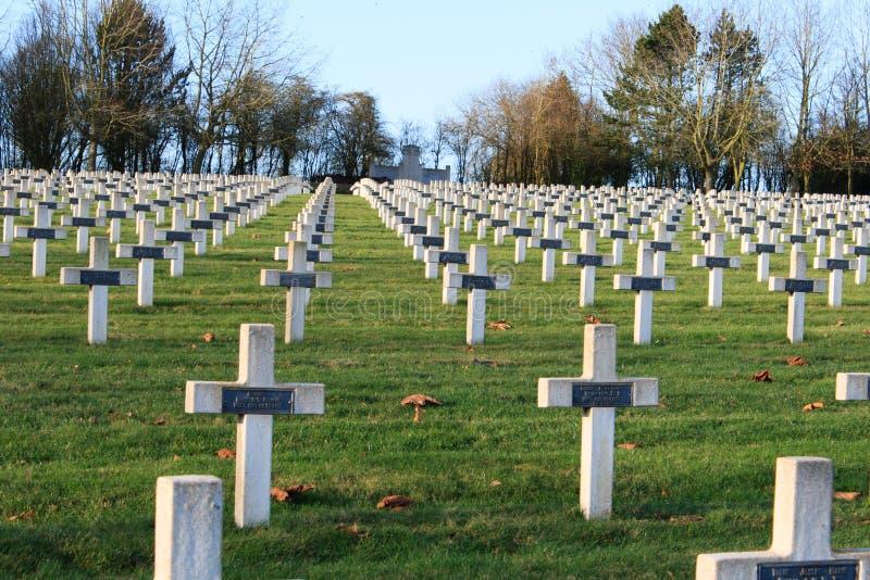 Kirchhoferster weltkrieg in La Targette Frankreichs Vimy stockbild