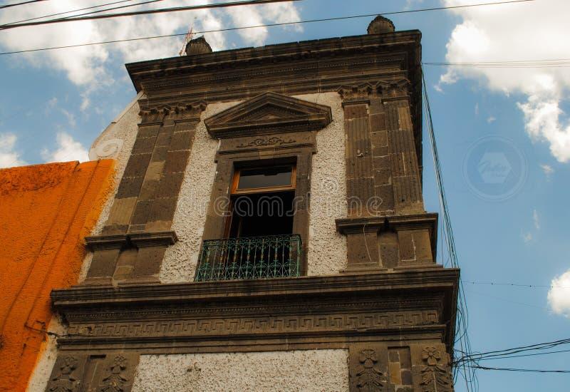 Kirchturm in Ixmiquilpan, Hidalgo, Mexiko stockfoto