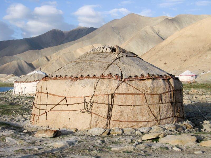 Download Kirgiz Yurt stock image. Image of mountain, lake, yurt - 12553893
