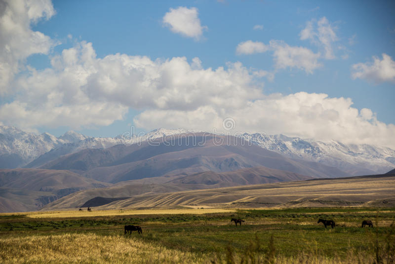 Kirgizstan hermoso imágenes de archivo libres de regalías