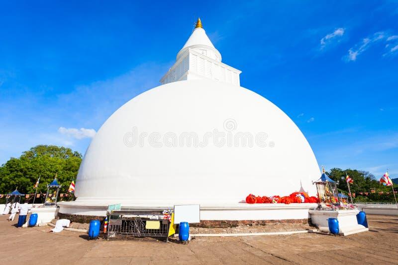 Kiri Vehera, Kataragama寺庙 免版税库存图片