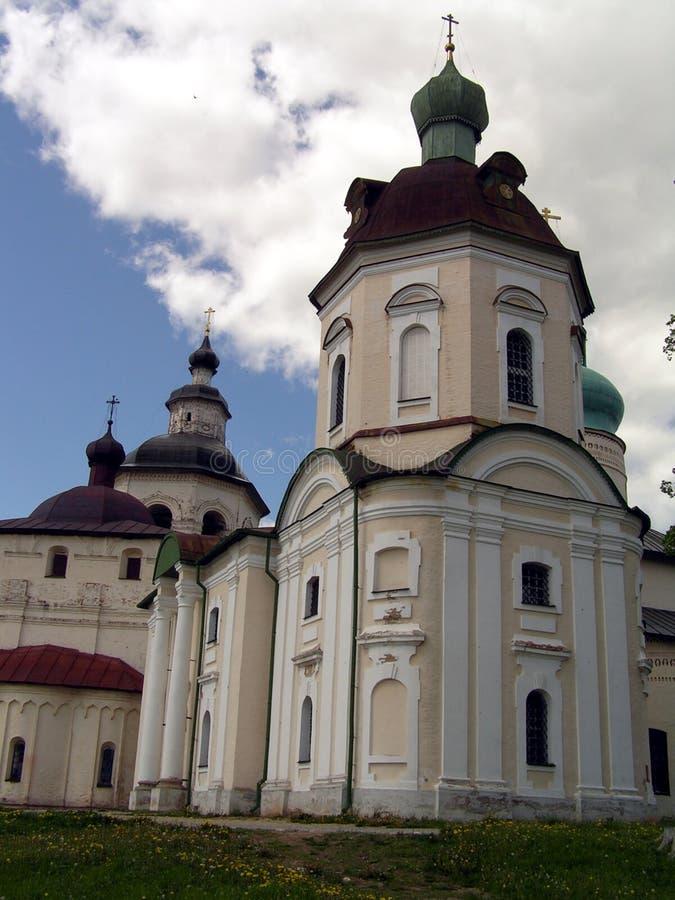 Kirillov - iglesia fotografía de archivo