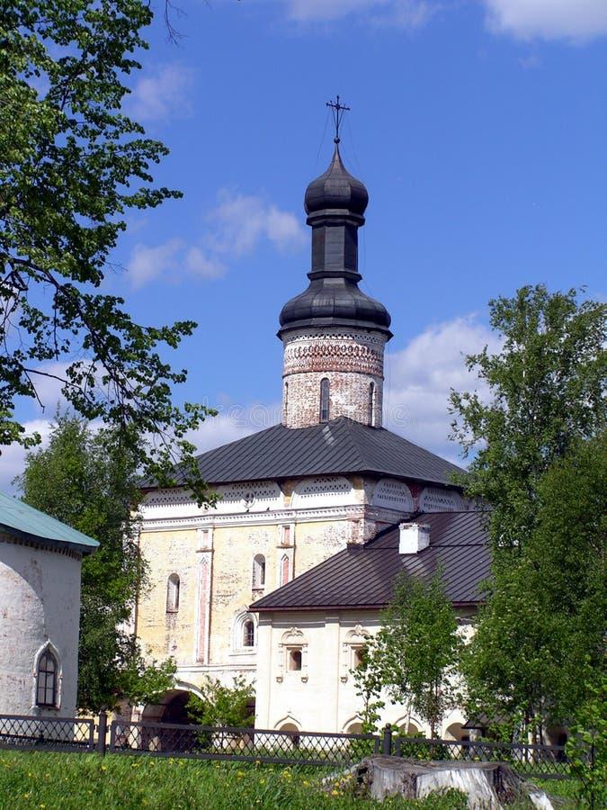 Kirillov - templo foto de archivo