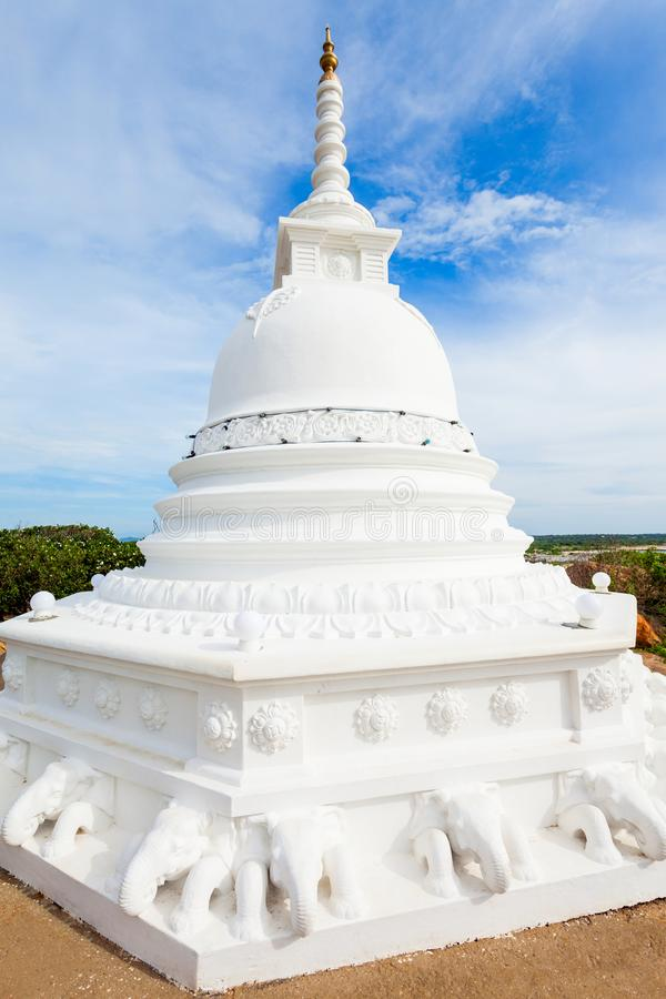Kirinda Viharaya寺庙, Tissamaharama 库存图片