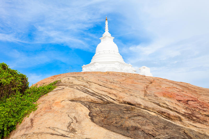Kirinda Viharaya寺庙, Tissamaharama 免版税库存图片