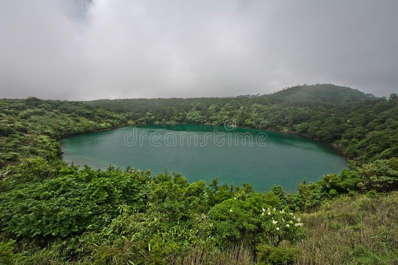 kirishima湖 库存图片