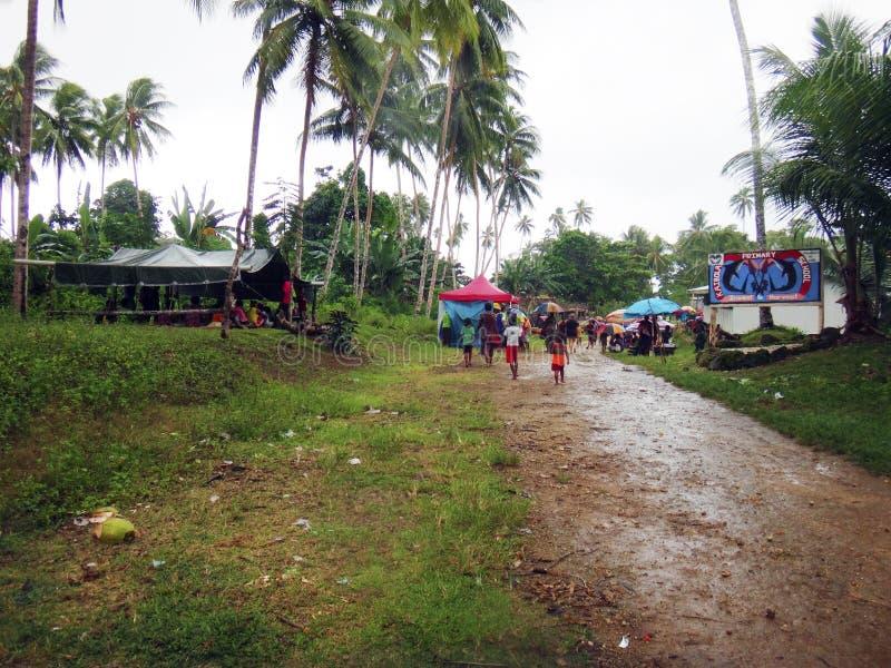 Kiriwina wyspa, Papua - nowa gwinea obrazy royalty free