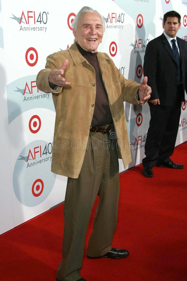 Download Kirk Douglas editorial photography. Image of target, anniversary - 24569712