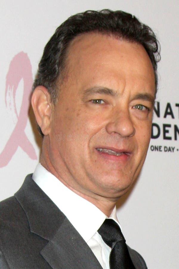Kirk Douglas, Tom Hanks stock foto