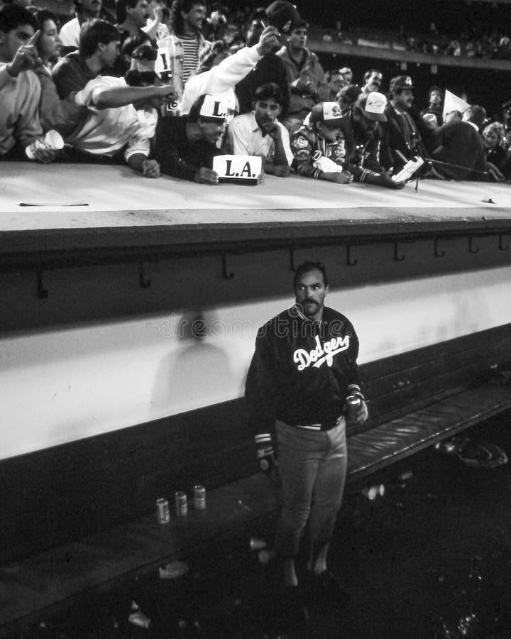 Kirk Gibson, Los Angeles Dodgers. LA Dodgers OF Kirk Gibson. (Image taken from color slide stock image