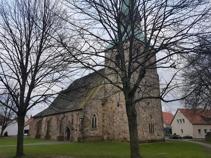 Kirk. Kirche, Germany royalty free stock images