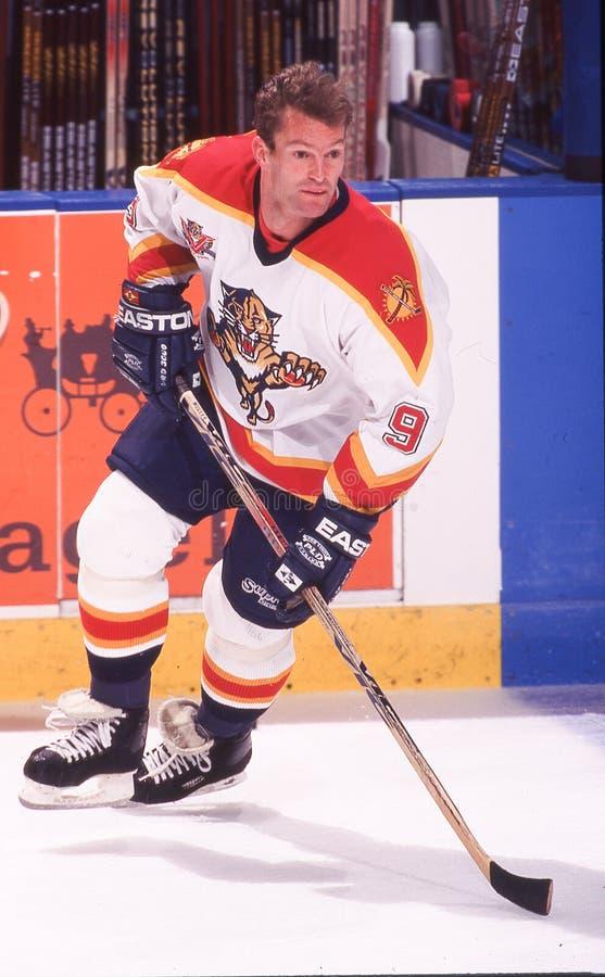 Kirk Muller. Florida Panthers C Kirk Muller. Image taken from color slide stock image
