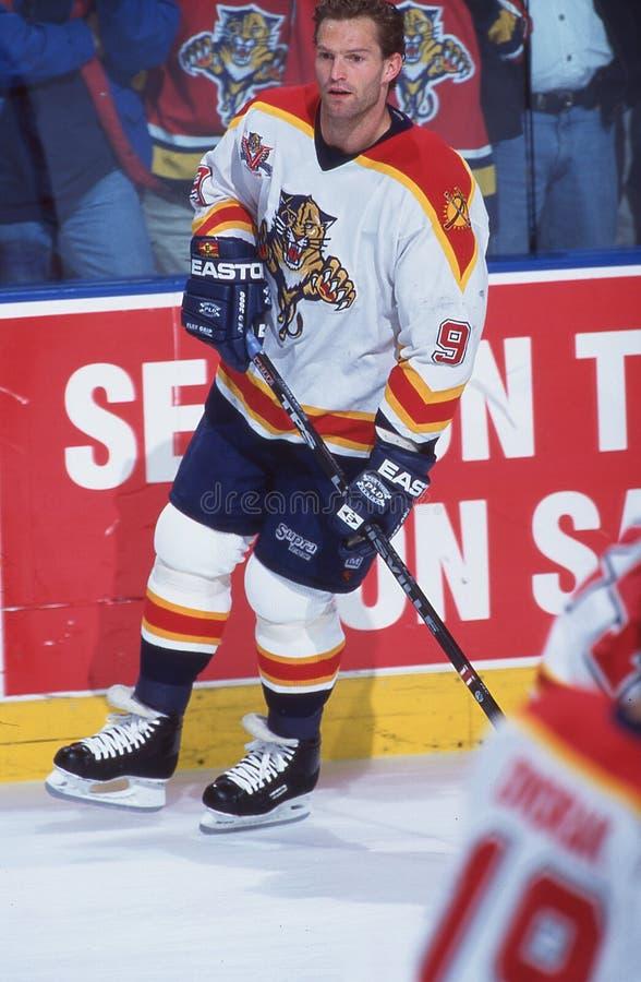 Kirk Muller. Florida Panthers center Kirk Muller #9. Image taken from a color slide stock photography