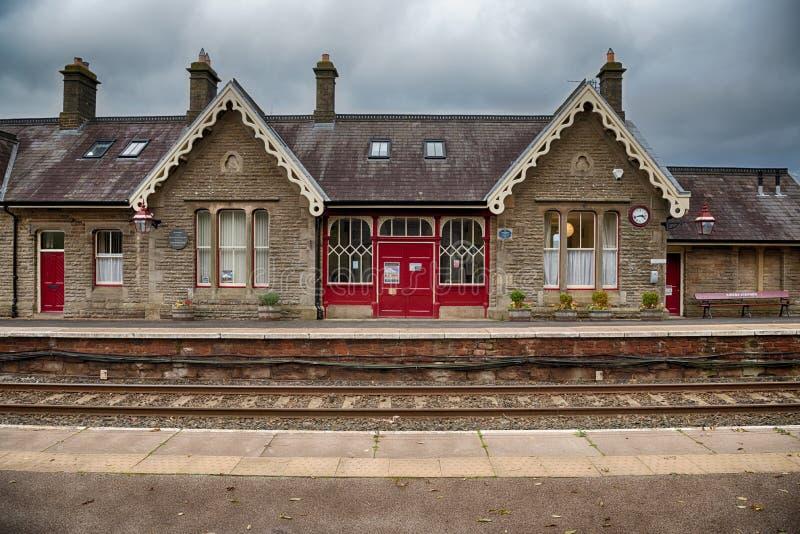 Kirkby Stephen Station, Cumbria, UK arkivfoto
