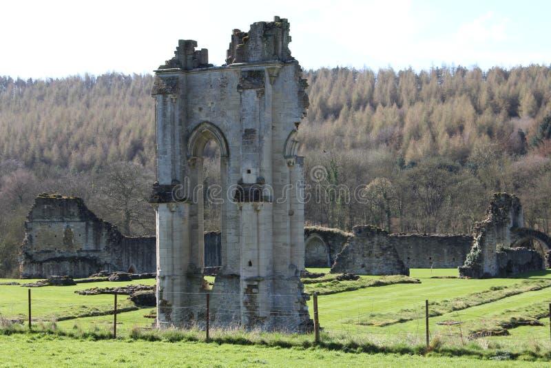 Kirkham小修道院约克夏英国 免版税库存照片