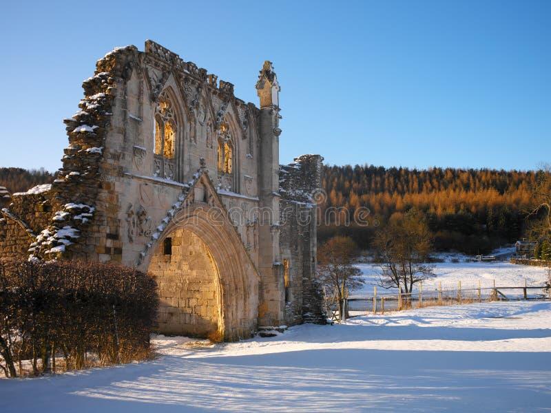 Kirkham小修道院-约克夏-英国废墟  库存图片