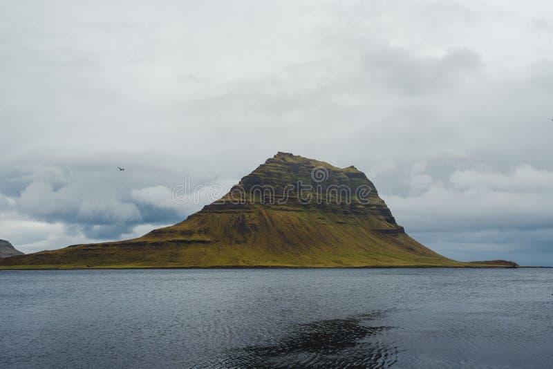Kirkjufell fotografia stock libera da diritti