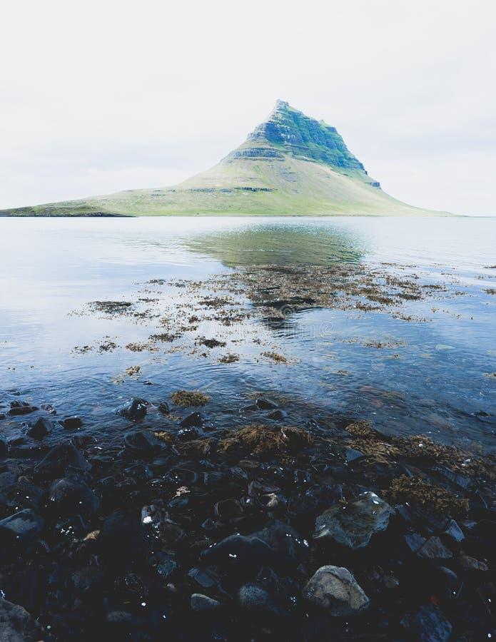 Kirkjufell Mountain stock images
