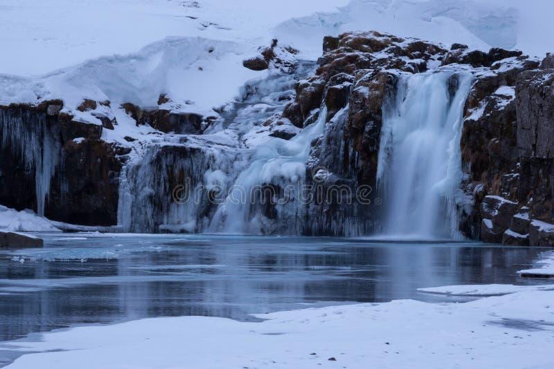 Kirkjufellsfoss photo libre de droits