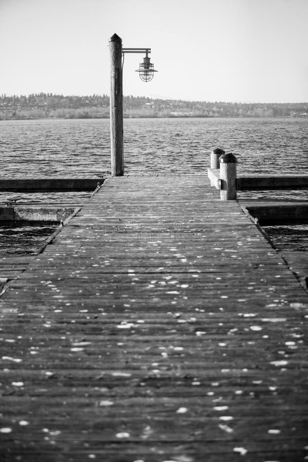 Kirkland Pier immagine stock