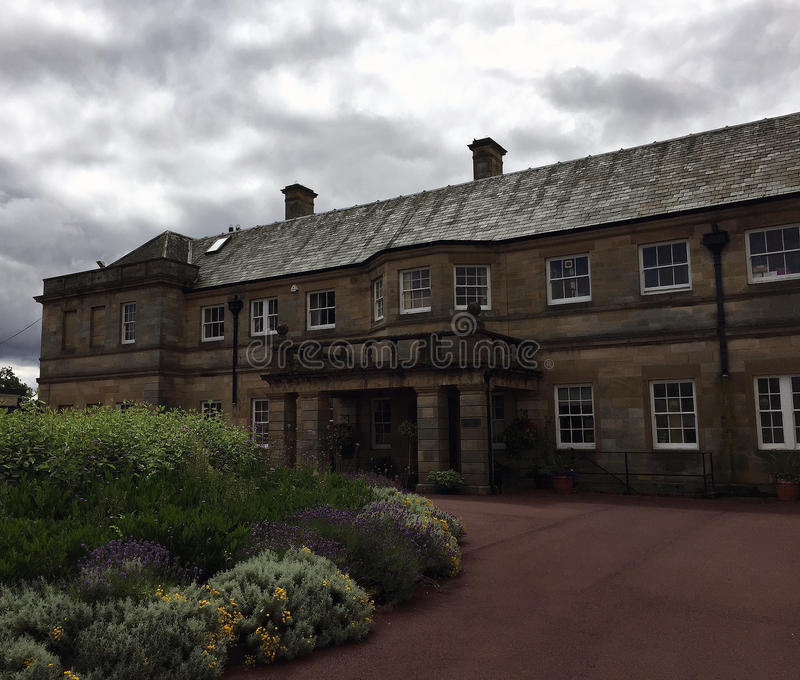 Kirkley Hall, le Northumberland photo stock