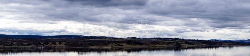 Kirkwall Orkney öar royaltyfri fotografi